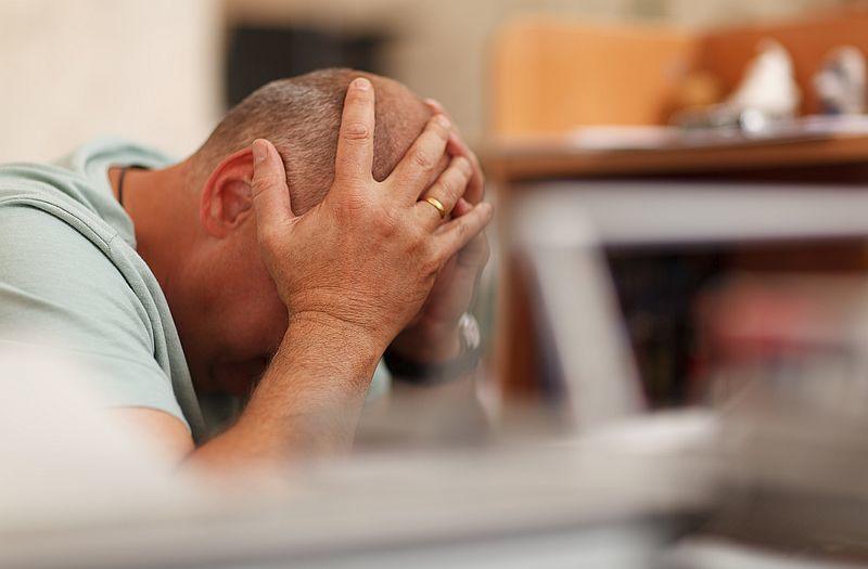 Stress und Verzweiflung
