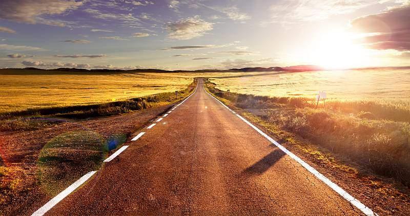Der Weg zum glücklich sein